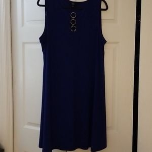 Women's Blue Dress; Size XL